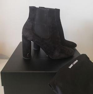 SAINT LAURENT Pull on Boots Black